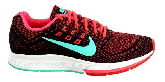 Tênis Nike Air Zoom Structure 18 Feminino Colorido