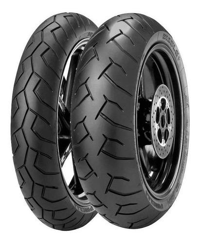 Kit Cubiertas 120 70 17 + 180 55 17 Pirelli Diablo Sti Motos