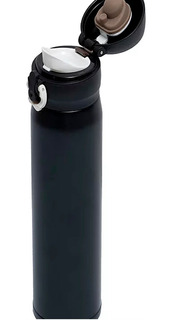 Termo De Acero Inoxidable Negro 500 Ml Vaso Portatil Cafe Te