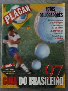 Revista Placar- Guia Brasileirão 97+ Tabelas Série A/b