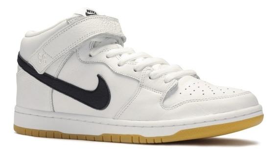 Zapatilla Nike Sb Dunk Mid Pro Blanca