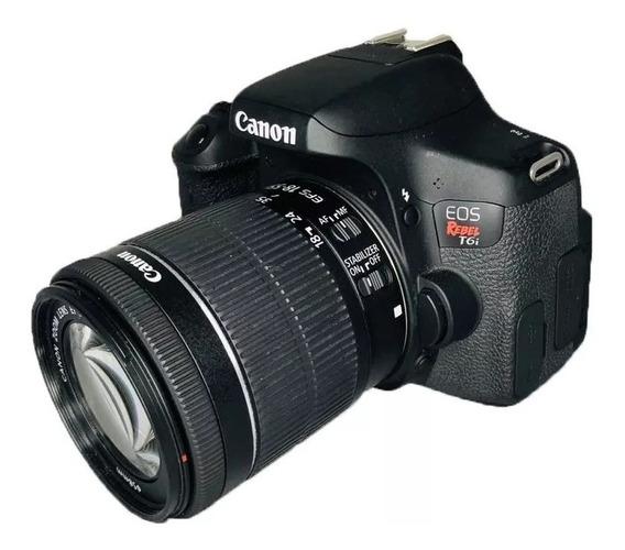 Câmera Canon T6i 18-55mm Is Stm Garantia