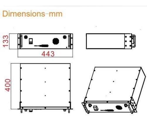 Imagen 1 de 4 de Baterías De Litio 48v - 100 Ah
