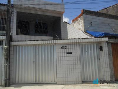 Casa Residencial Para Locação, Álvaro Weyne, Fortaleza. - Codigo: Ca1085 - Ca1085
