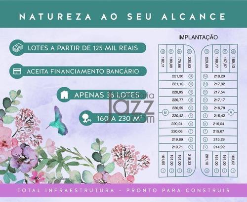 Imagem 1 de 3 de Terrenos À Venda, 230 M² Por R$ 150.000 - São Luiz - Paulínia/sp - Te0943