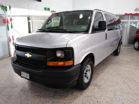 Chevrolet Express Van 15 Pasajeros Servicios Factura Agencia