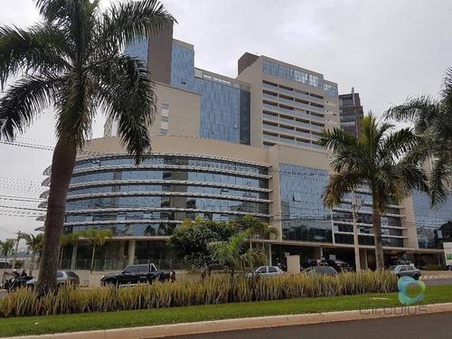 Complexo Civitas/hotel Mercure - 1 Dormitório À Venda, 23 M²  - Jardim Botânico - Ribeirão Preto/sp - Ho0014