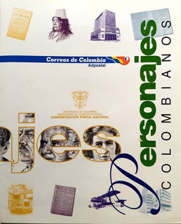 Carpeta Personajes Colombianos 1997-filatelia-estampillas