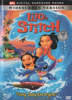 Lilo & Stitch Dts Dvd Orig Import Z1 Disney Ateens Bandana