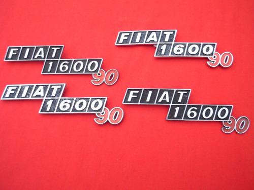Insignias Fiat 1600 90