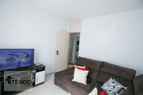 Imagem 1 de 16 de Imob01 - Apartamento 50 M² - Venda - 2 Dormitórios - Jordanópolis - São Bernardo Do Campo/sp - Ap0077