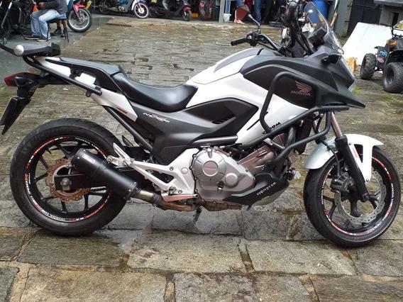 Honda Nc 700x Branca 2014
