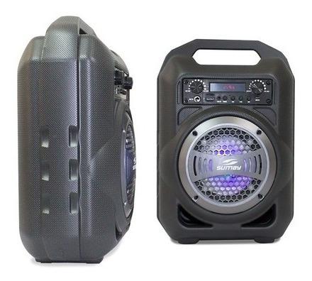 Caixa Som Portátil Sumay Gallon Music Sm-csp13 30w Rms Bluet