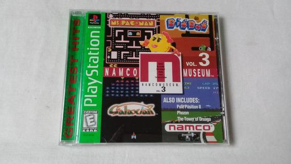 Namco Museum Vol.3 Ps1 100% Original