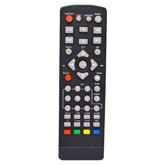 Controle Remoto Para Conversor Tv Digital Intelbras Keo 900