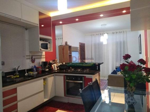 Casa Com 2 Dormitórios À Venda, 90 M² Por R$ 240.000 - Hataville - Tremembé/sp - Ca2311