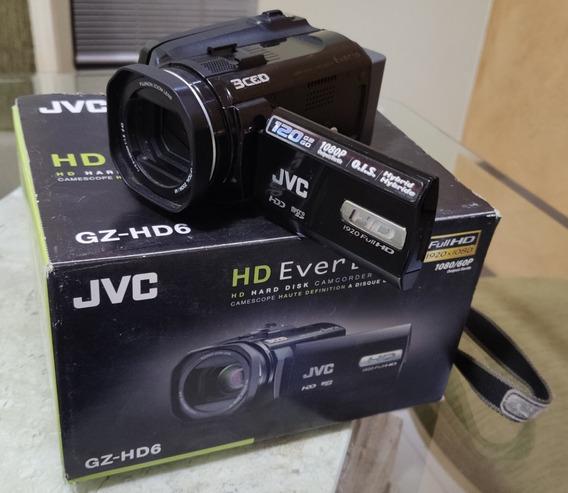 Filmadora Jvc Full Hd Gz-hd6 120gb Hard Disk - Hdmi - 1080p
