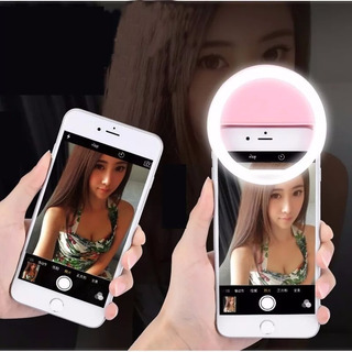 Luz Selfie Ring Light Clipe Anel Led Flash Celular Universal