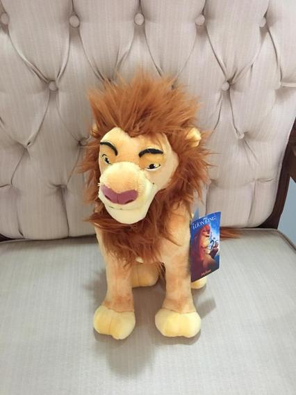 O Rei Leao De Pelucia Original Importado Disney Store