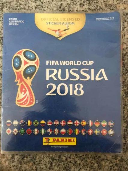 Livro Da Copa Do Mundo Na Rússia 2018 Completo
