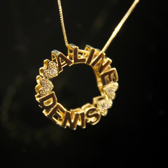 Mandala Em Ouro 18k