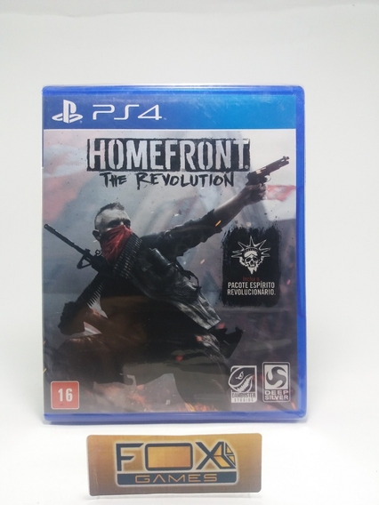 Ps4 Jogo Homefront The Revolution