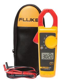 Alicate Amperimetro 400a-600v 302+ Fluke + Bolsa