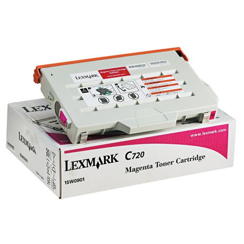 Cart Lexmark 15w0901 Magenta P/imp C-720 (cailx0901)
