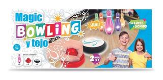 Juego Magic Bowling Y Tejo 2 Juegos En 1 Original Jyj