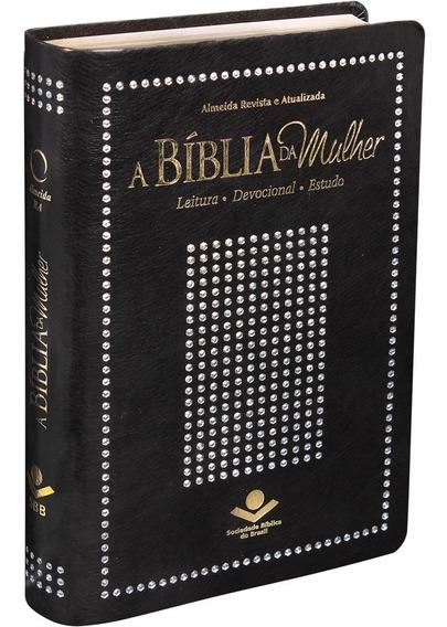 Bíblia Da Mulher Almeida Revista E Atualizada 13,5 X 20,0 Cm