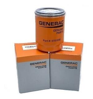 Filtro Aceite Planta Generac Original 070185es 8kw A 22kw