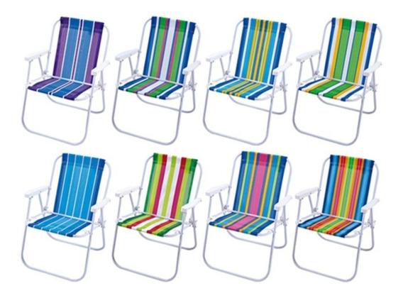 Cadeira Praia Aluminio Bel Prazer -mor