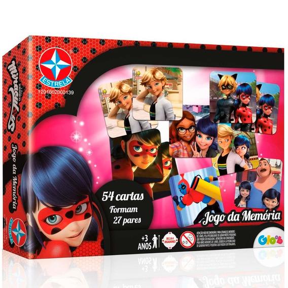 Jogo De Memoria - Miraculous Ladybug - Estrela