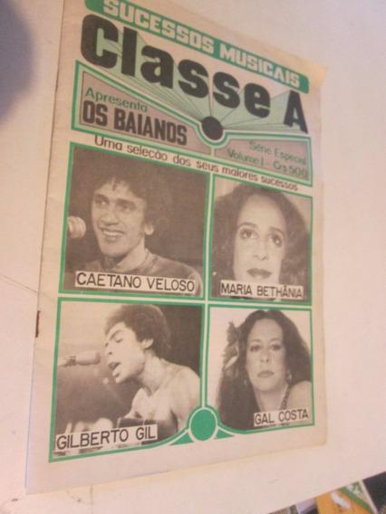 Caetano Gal Gil Tropicalia Revista Antiga Letras Rara