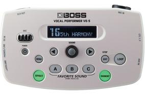 Processador Boss Ve-5 Efeitos Vocal Segunda Voz Afinador