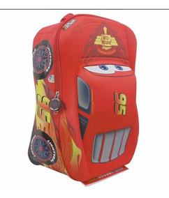 Cars 3 Mochila Original 3d Kinder Preescolar