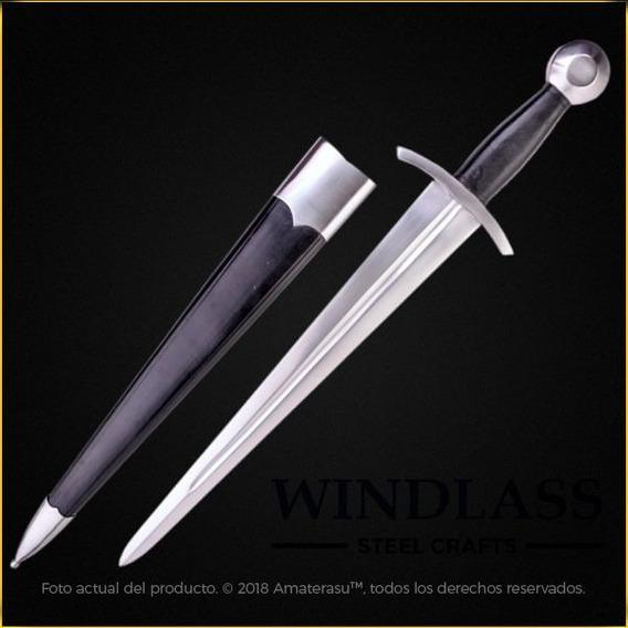 Espada Corta Medieval Daga Coustille Marto Cruzada Templario
