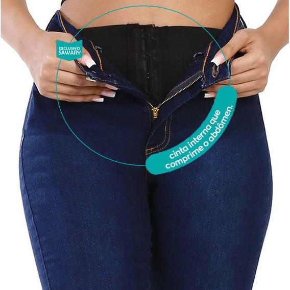 Calça Jeans Feminina Super Lipo Sawary Roupas Femininas