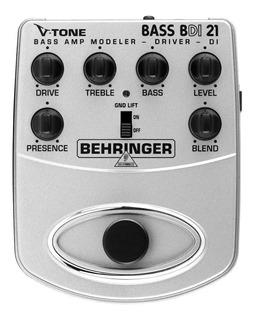 Pedal V-tone Bass Behringer Bajo Bdi-21 Confirma Existencia)