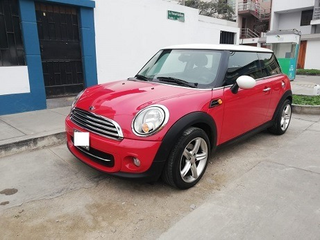 Mini Cooper 2012 Rojo