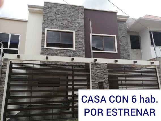 Vendo Casa Por Estrenar Sector Parque Del Dragón
