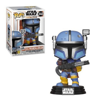 Star Wars: The Mandalorian Heavy Infantry Mandalorian Pop!