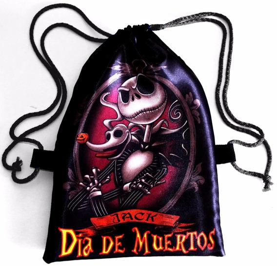 135 Bolsitas Día De Muertos Halloween Personalizadas