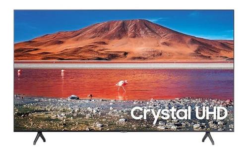 "Imagen 1 de 7 de Smart TV Samsung Series 7 UN65TU7000GCZB LED 4K 65"" 220V-240V"