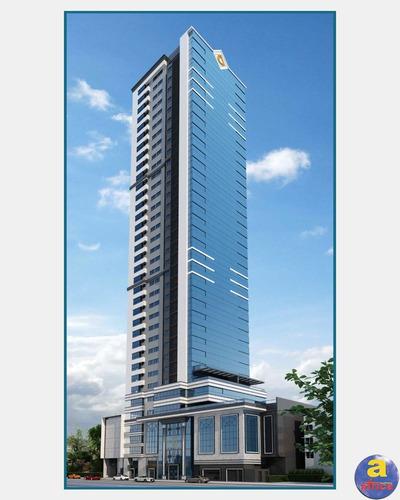 Imagem 1 de 30 de Apartamento De Luxo Com 4 Suítes, 3 Vagas De Garagem Na Meia Praia Em Itapema/sc - Imobiliária África - Ap00295 - 69534908