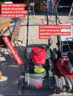 Podadora Cortadora Césped Honda Hrx217 Gcv190 No Trae Bolsa