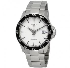 Relógio Tissot V8 Swissmatic Automático Preto/prata/aço