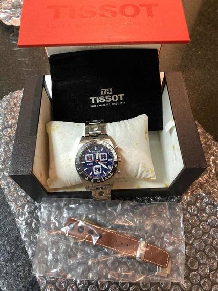 Relógio Tissot 1853 Original Caixa Manual 2 Pulseira