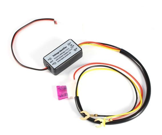 Controlador De Luz Diurna Automotivo Drl 12-18 V Frete R$ 12