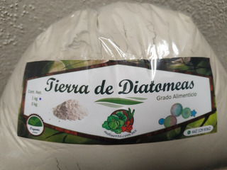 1 Kg Tierra De Diatomeas Fertilizante-insecticida Orgánico